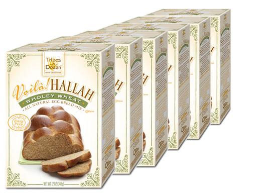 Voilà! Hallah Wholey Wheat Egg Bread Mix - 6 Pack