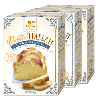 Voilà! Hallah Traditional Egg Bread Mix - 3 Pack