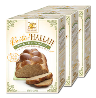 Voilà! Hallah Wholey Wheat Egg Bread Mix - 3 Pack
