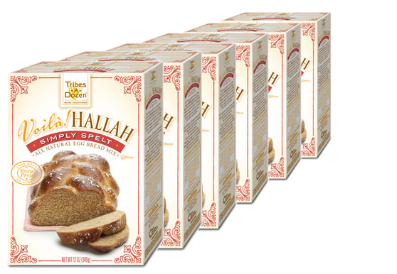 Voilà! Hallah Simply Spelt Egg Bread Mix - 6 Pack