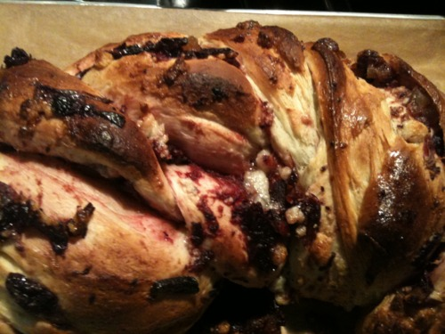 A Marriage of Two Traditions: Cranberry (Hallah) Bread for Thanksgiving