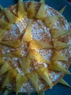 pineapple triangles
