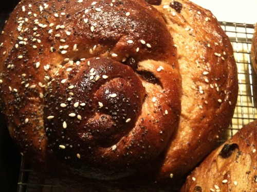 Wholey Wheat Hallahs for Rosh Hashanah!