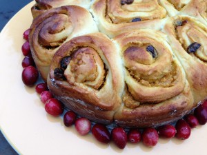 Post image for Cranberry Pumpkin Cheese Coffee Cake