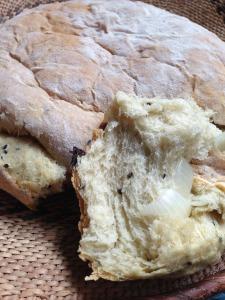 Khafush is a yemeni bread that's easy to make