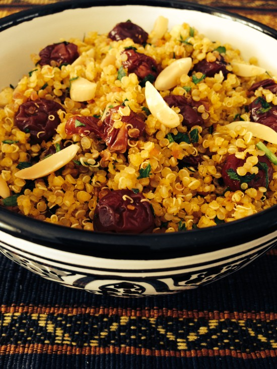 Almond Cherry Quinoa
